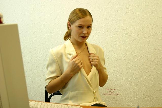 Pic #2 - Sophie'S Office Strip Teasing