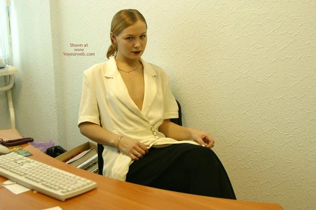 Pic #6 - Sophie'S Office Strip Teasing