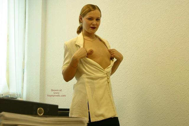 Pic #8 - Sophie'S Office Strip Teasing