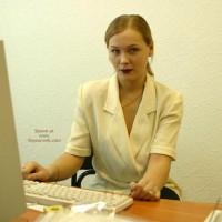 Sophie'S Office Strip Teasing