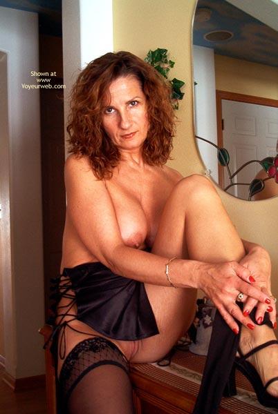 Pic #2 - Maggie Mae In Black Satin