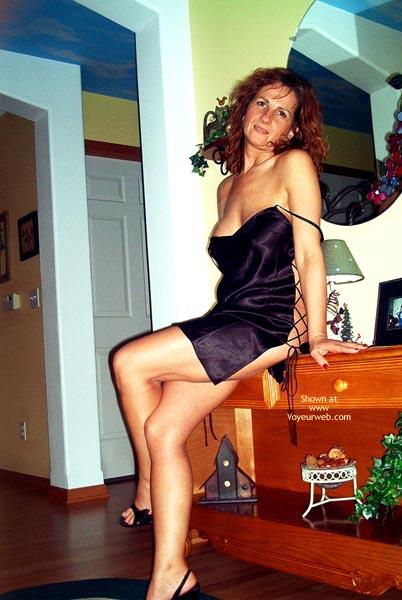 Pic #3 - Maggie Mae In Black Satin