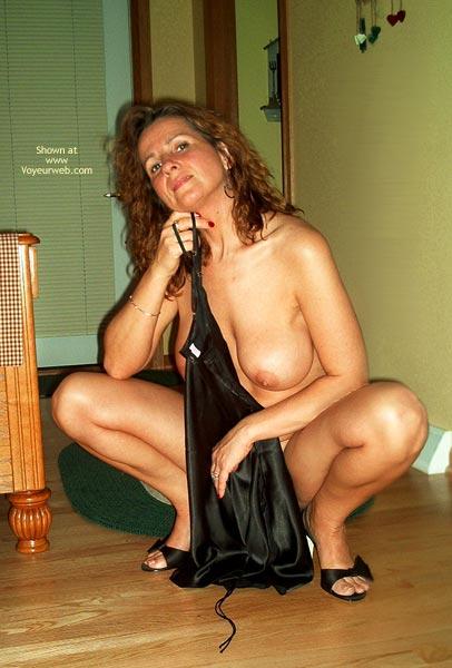 Pic #8 - Maggie Mae In Black Satin