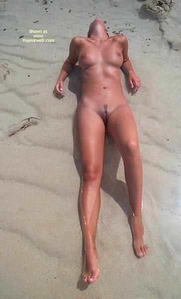 Pic #1 - Naked On The Beach - No Tan Lines , Naked On The Beach, Naked In The Water, Faceless, No Tan Lines