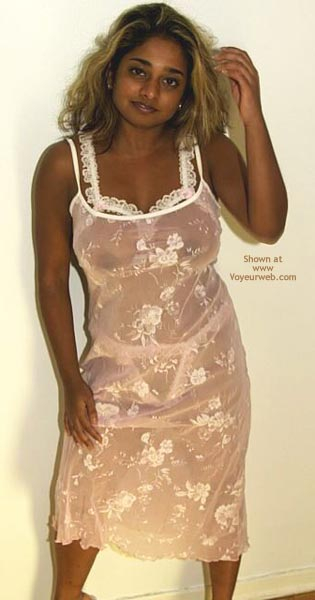 Pic #1 - Amazing Indian Wife in Unusual Lingerie