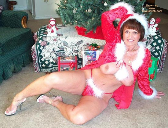 Pic #4 - Claire is Santa This Christmas