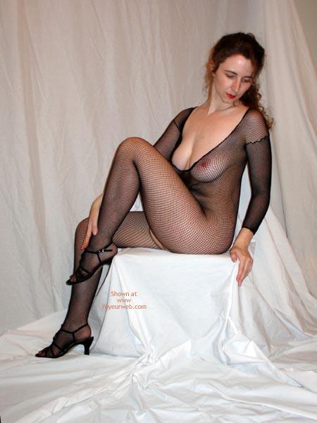 Pic #3 - Maggie Black On White