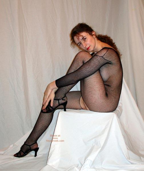Pic #4 - Maggie Black On White