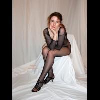 Maggie Black On White