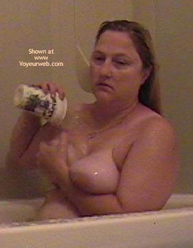 Pic #3 - Wife in The Tub