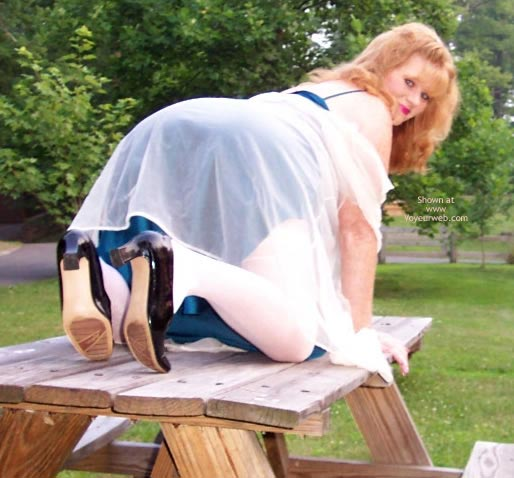 Pic #4 - *Ol Playing Outside In Lingerie