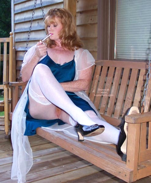 Pic #5 - *Ol Playing Outside In Lingerie