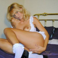 Arianna Innocent In White?