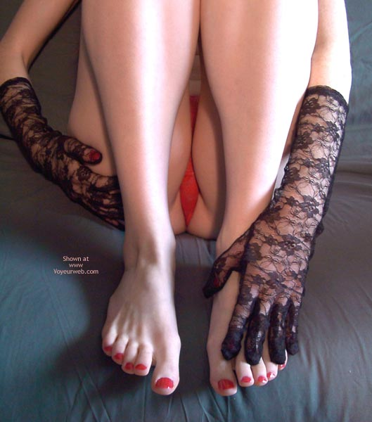 Pic #7 - Redhead Madison Body Parts 5 Legs And Feet