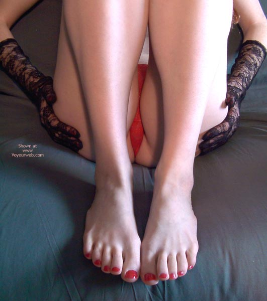 Pic #8 - Redhead Madison Body Parts 5 Legs And Feet