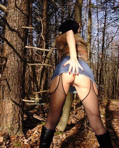 Pic #6 - *NY Nina's Nylons in The Woods