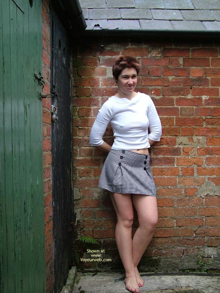 Pic #2 - Eve Outside in White Jumper