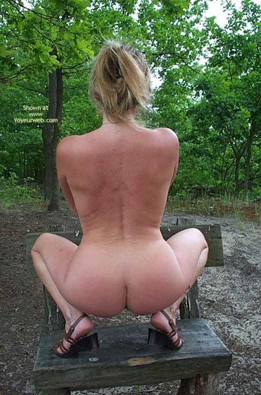 Pic #2 - Outside is Karin's Ass