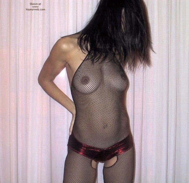 Pic #1 - Mia Moglie Elisa In Net Bodystockings