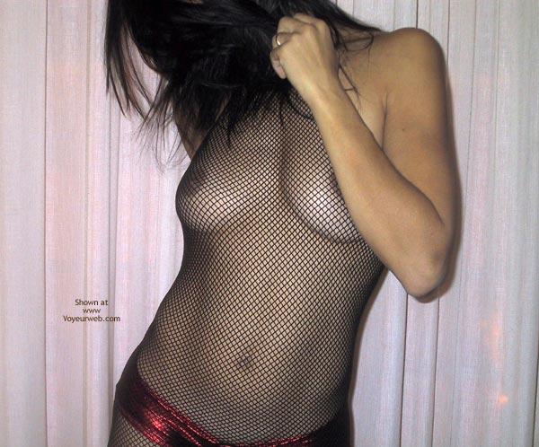 Pic #2 - Mia Moglie Elisa In Net Bodystockings