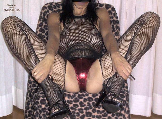 Pic #7 - Mia Moglie Elisa In Net Bodystockings