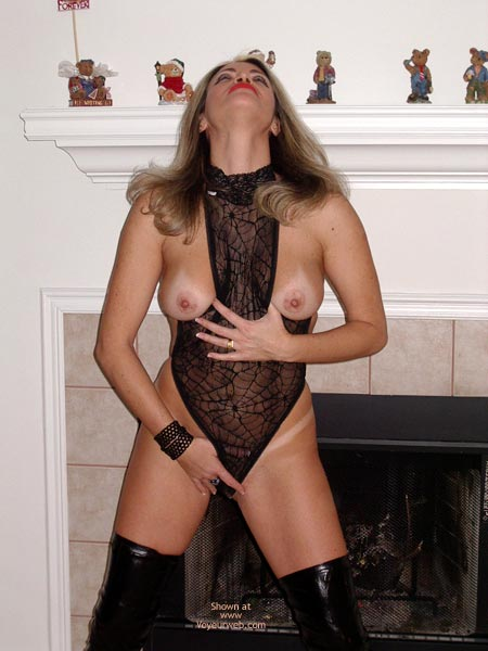 Pic #3 - Sexy Ly The Fireplace