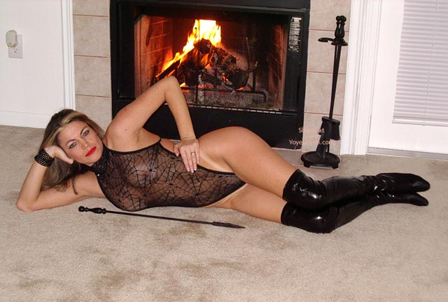 Pic #6 - Sexy Ly The Fireplace