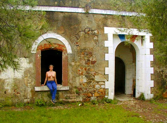 Pic #1 - Tina In An Old Fort