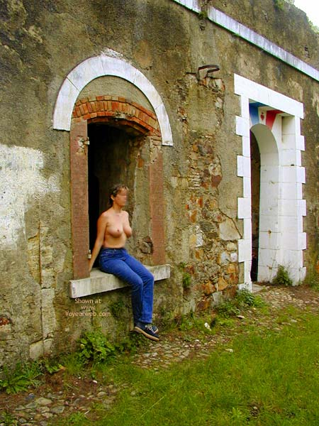 Pic #2 - Tina In An Old Fort
