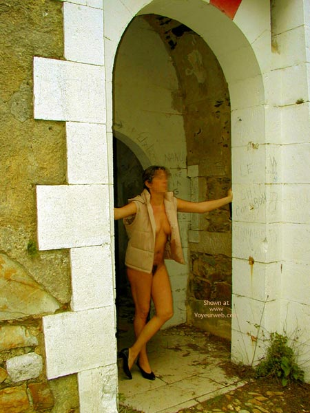 Pic #4 - Tina In An Old Fort