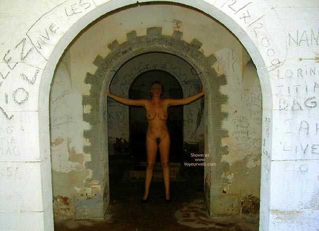 Pic #7 - Tina In An Old Fort