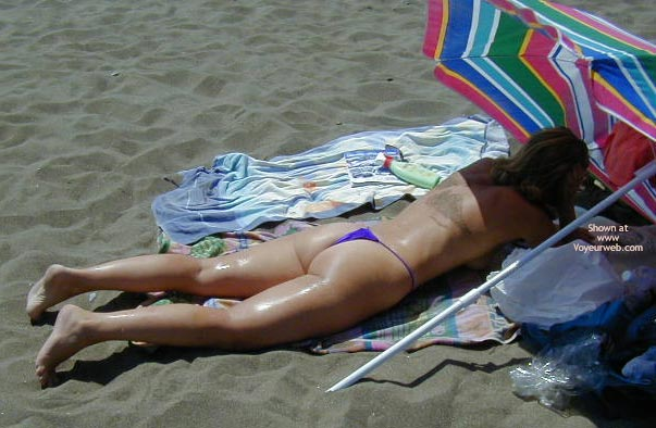 Pic #4 - Susy in Fuerteventura with Different Microthong