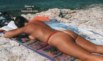 Pic #5 - Susy in Fuerteventura with Different Microthong