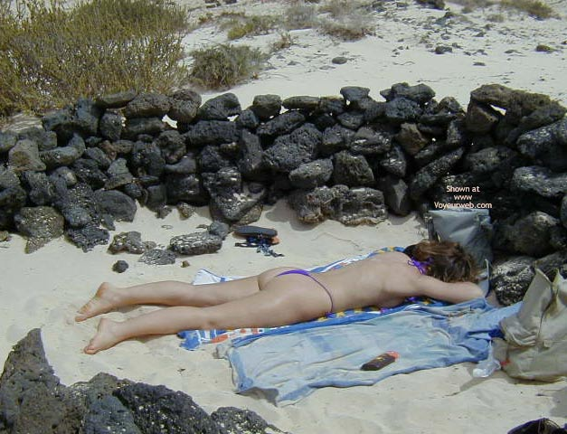 Pic #7 - Susy in Fuerteventura with Different Microthong