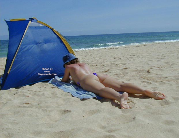 Pic #9 - Susy in Fuerteventura with Different Microthong