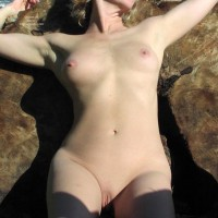 Shaved Pussy - Pink Nipples, Shaved Pussy, Small Boobs