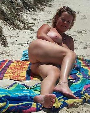 Pic #3 - Wife on The Beach