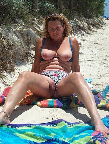 Pic #5 - Wife on The Beach