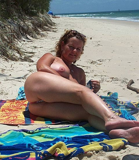Pic #8 - Wife on The Beach