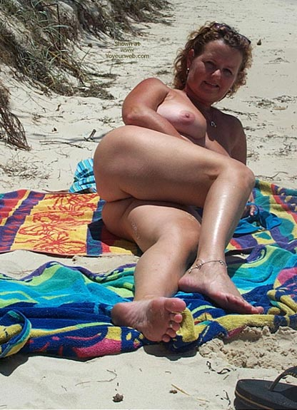 Pic #9 - Wife on The Beach