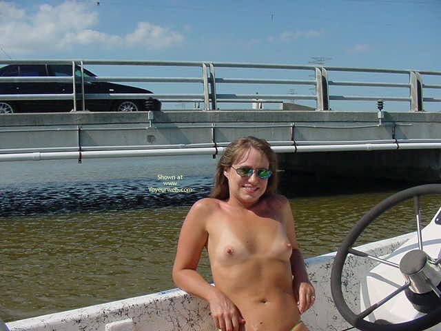 Pic #9 - Amber Flashing on The Boat