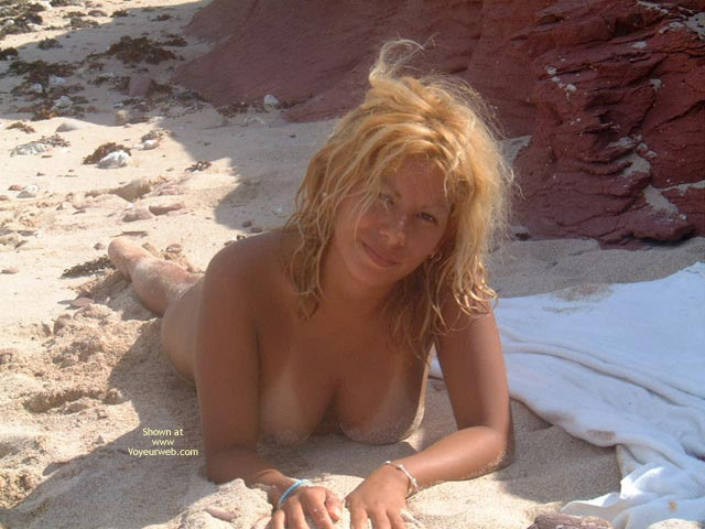 Pic #1 - Lying Out Naked On Beach - Naked On Beach, Nude Beach , Lying Out Naked On Beach, Nude On Beach, Blonde On Beach, Tits In The Sand, Beach Cleavage