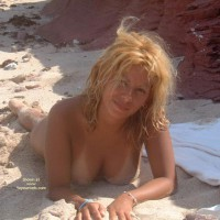 Lying Out Naked On Beach - Naked On Beach, Nude Beach