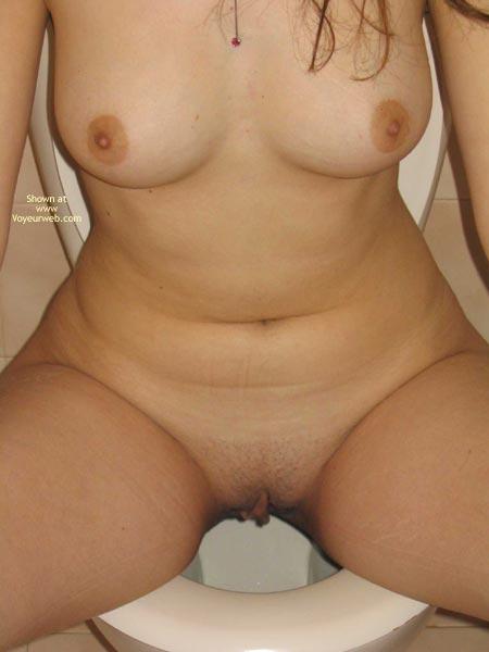 Pic #6 - 20 yo Girlfriend Nude On The Rocks