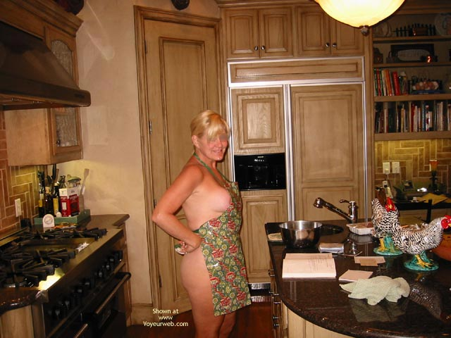 Pic #4 - In The Kitchen, Pool and Garden