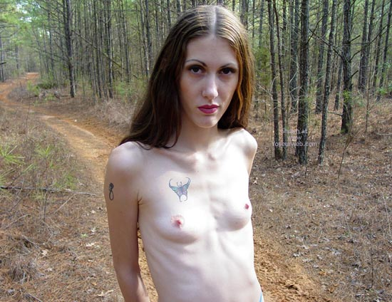 Pic #2 - Hippy Chick In The Winter Woods