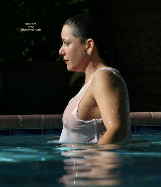 Pic #2 - Sunset With Alicia in The Pool