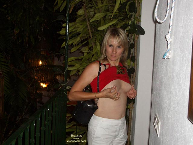 Pic #1 - Tits Out at The Playboy Mansion Marbella Spain