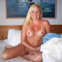 Clean Shaven - Bedroom, Blonde Hair, Tan Lines
