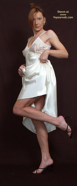 Pic #2 - Susy Rocks My White Nightie